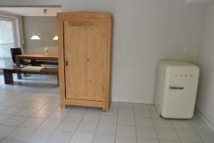 Eingang-Ferienwohnung-mit-Getränkekühlschrank